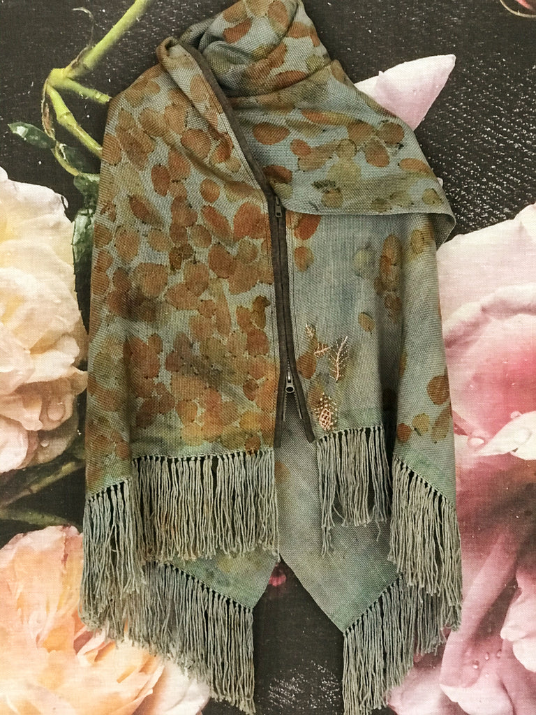 Prayer Shawl Honoring Abundance
