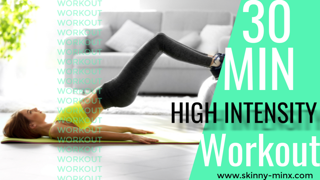 30 min high intensity home workout