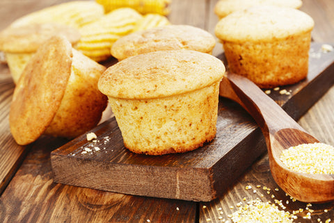 Cauliflower Corn Muffins