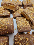 Chocolate Covered Almond English Toffee