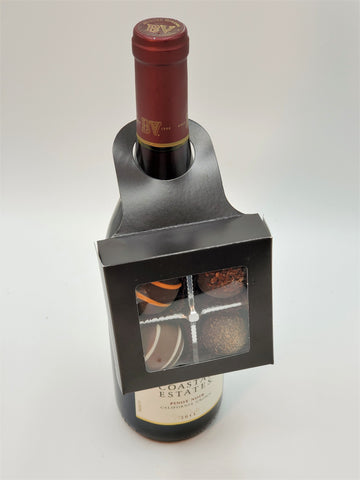 Wine Bottle Truffle Holder
