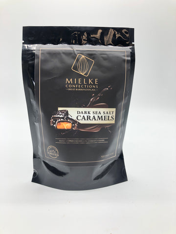 Dark Sea Salt Caramels 8oz