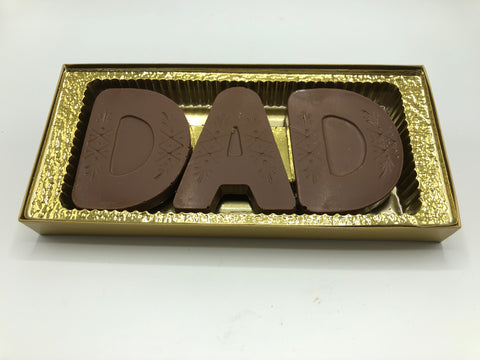 Milk Chocolate Dad Box