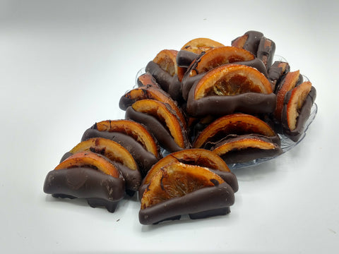 Orange Slices - Chocolate Dipped