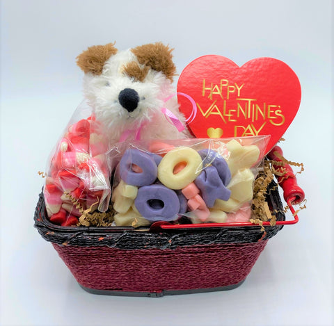 Puppy Love Gift Basket