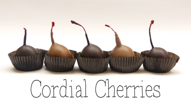 Hand Dipped Chocolate Cherries - Store Pickup Only