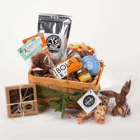 HOPPY TREAT EASTER GIFT BASKET - LARGE