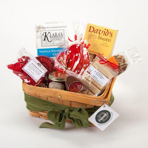 VALENTINE'S DAY LOVERS GIFT BASKET - LARGE
