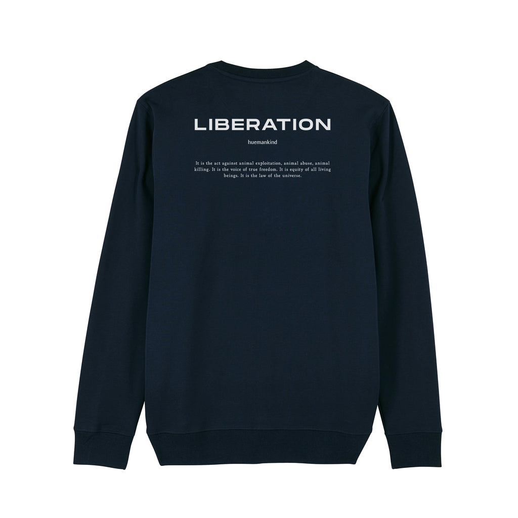 Huemankind Orca Liberation Men Organic Cotton Sweatshirt - Huemankind.World