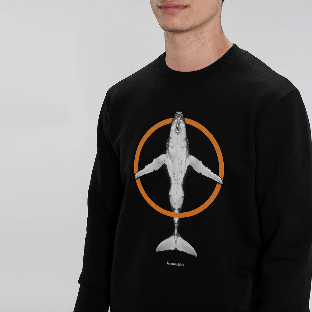 Huemankind Peace Men 100% Organic Cotton Sweatshirt - Huemankind.World