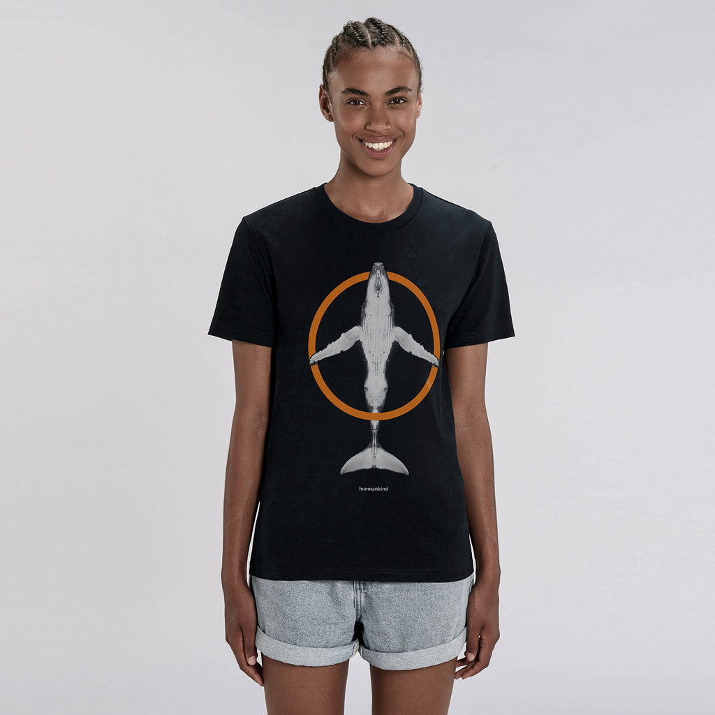 Huemankind Peace Wave 100% Organic Cotton T-Shirt - Huemankind.World