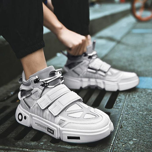 Retro Velcro Sneakers