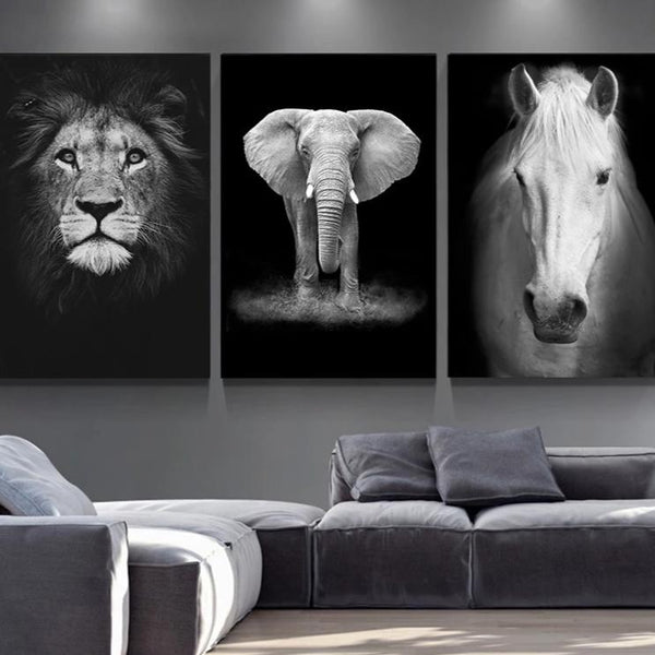 Animal Print Canvas