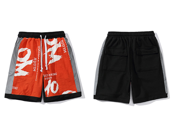 Reflective Casual Shorts
