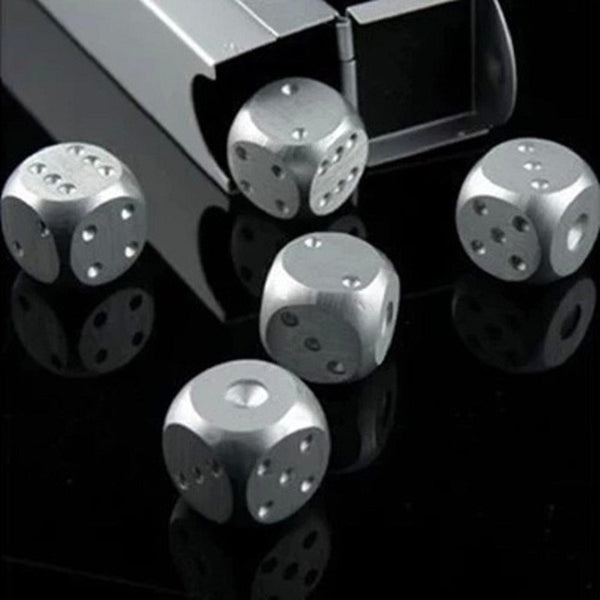 Stainless Steel Dice Whiskey Stones
