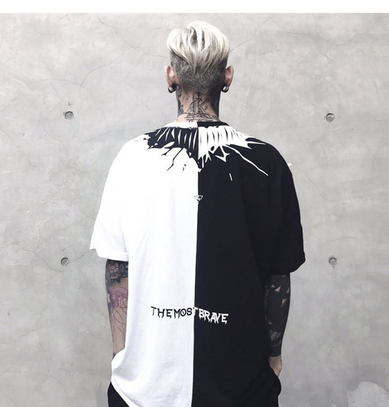 Harajuku Oversized Short Sleeve