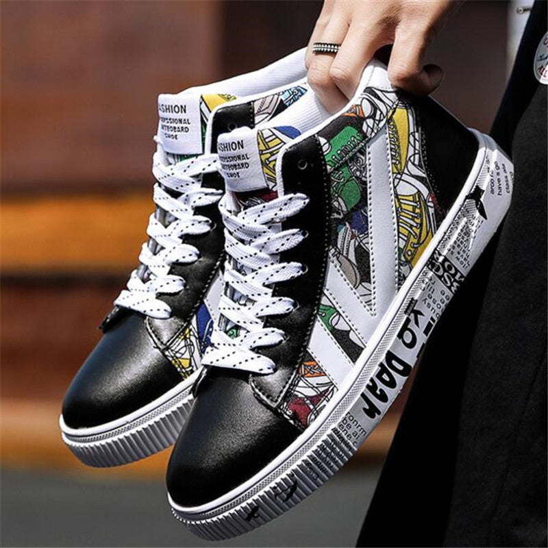 High Top Board Shoes