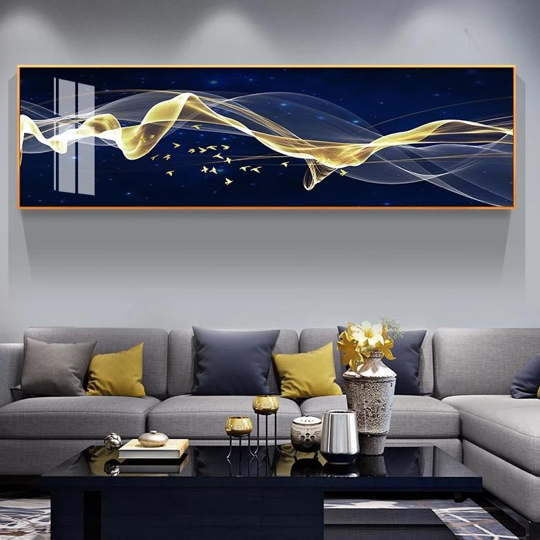 Extra Wide Modern Flow Canvas