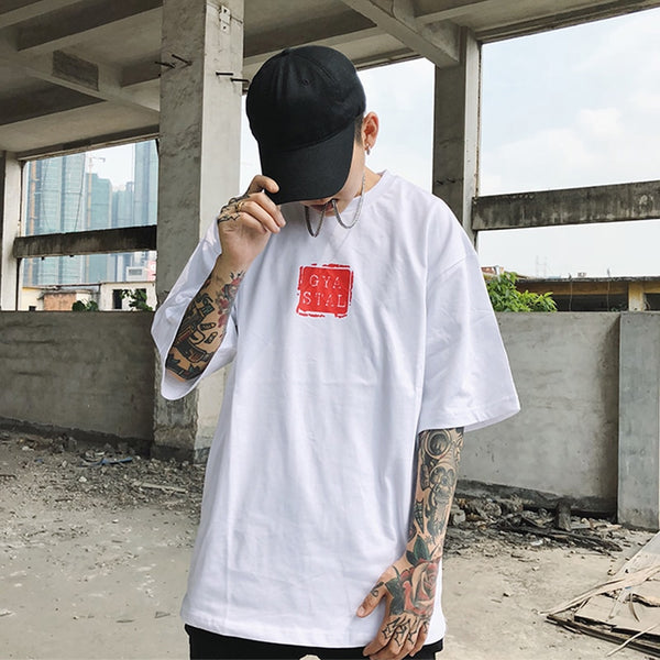 Ukiyoe Carp Oversized Short Sleeve
