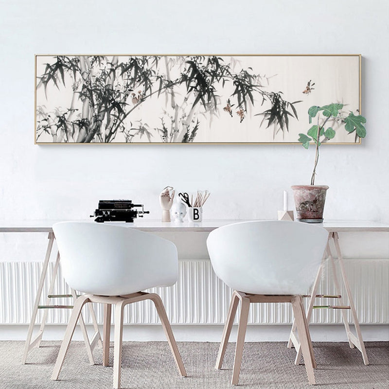 Extra Wide Bamboo Print Canvas