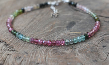 Load image into Gallery viewer, Tourmaline Gemstone Bracelet