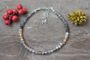 Moonstone Gemstone Bracelet