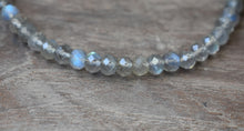 Load image into Gallery viewer, Labradorite Gemstone Bracelet