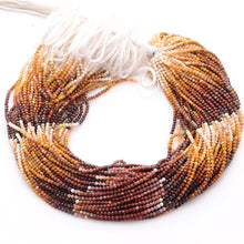 Load image into Gallery viewer, Microfacets 2.75 mm Mookaite AAA++ Quality Natural Gemstone Genuine Callibrated Faceted Rondelle Round Beads Strand 13 Inch