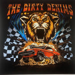 T-shirt Tiger Car
