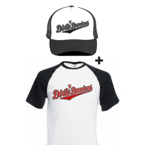 DEAL Baseball shirt + cap
