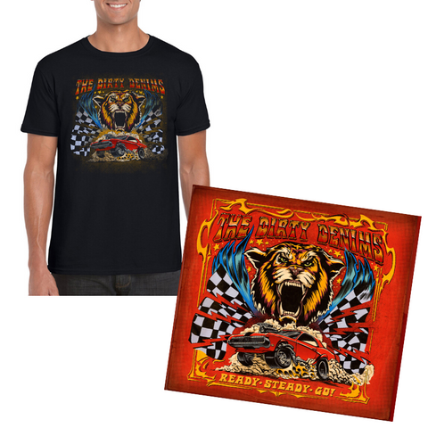 PRE-ORDER - CD + SHIRT Ready Steady Go! (Incl. ticket RSG Zoom-meeting)