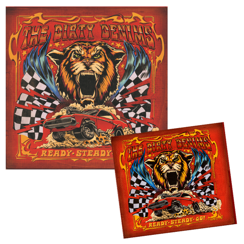 PRE-ORDER - CD + VINYL Ready Steady Go! (Incl. ticket RSG Zoom-meeting)