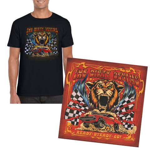 PRE-ORDER - VINYL+SHIRT Ready Steady Go! (Incl. ticket RSG Zoom-meeting)