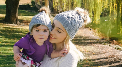Mummy and me UNISEX Beanie