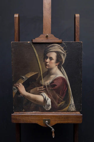 Artimesia Gentileschi 'Self Portrait' acquired by the National Gallery, London, in 2018