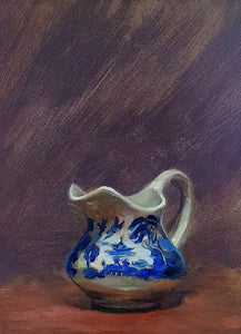 Title: Jug Artist: Andrew Sinclair Medum: Oil on board Size: 25 x 20 cm Broth Art