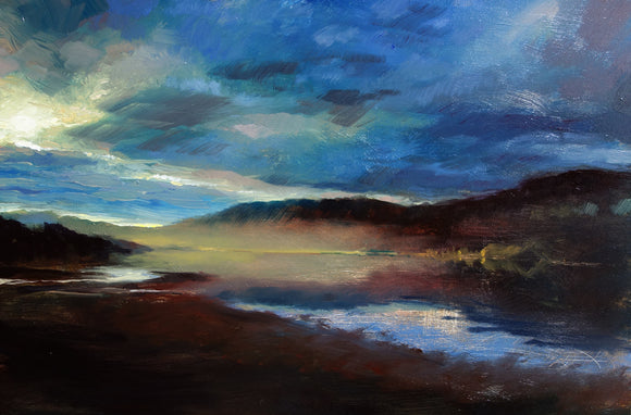 Mist Over Loch Sunart by Andrew Sinclair
