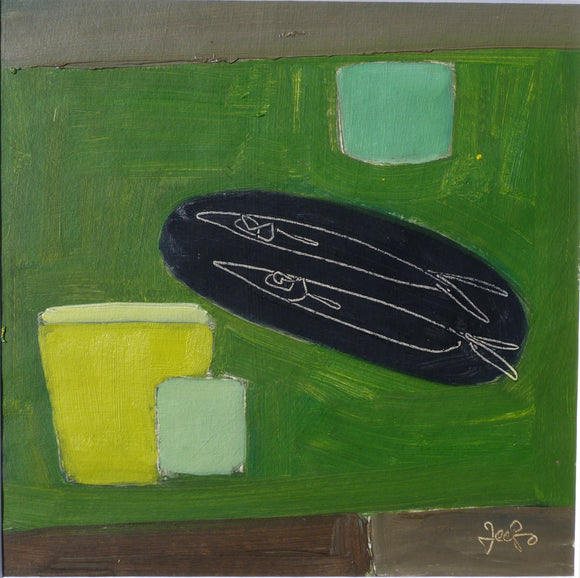 Black Fish Dish by Fiona MacRae