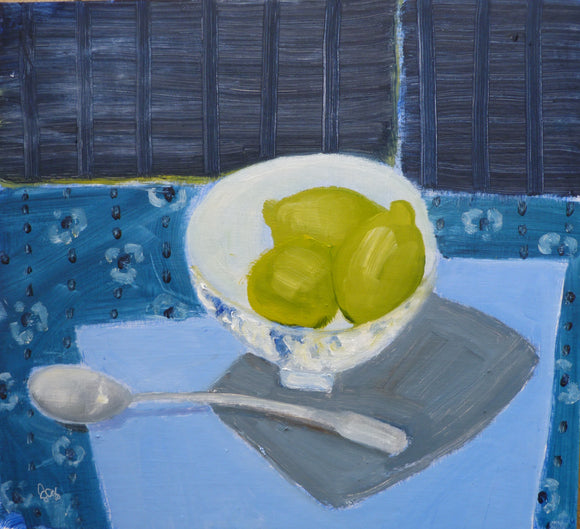 Lime Bowl by Fiona MacRae