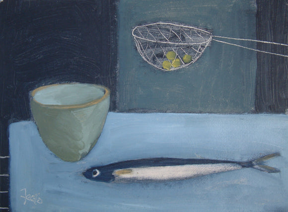 Pea Sieve by Fiona MacRae - SOLD