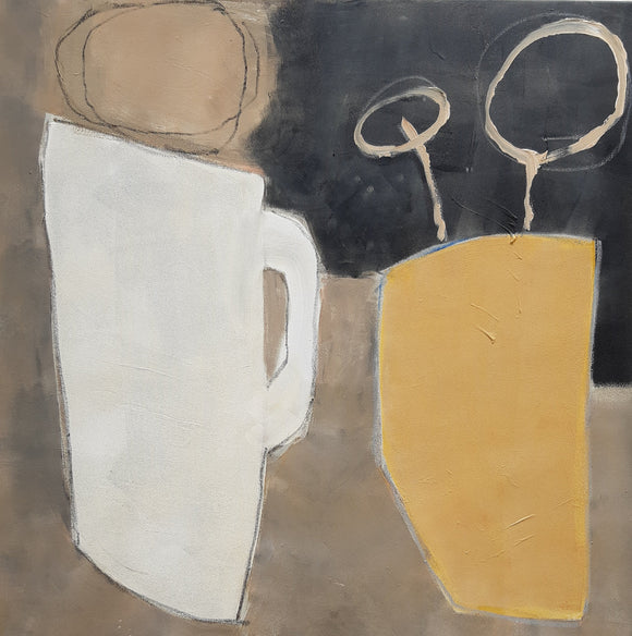 White Jug by Carol Douglas