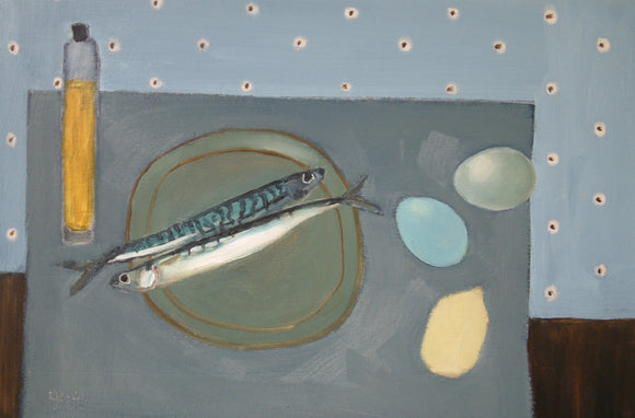 Olive Oil Fish by Fiona MacRae