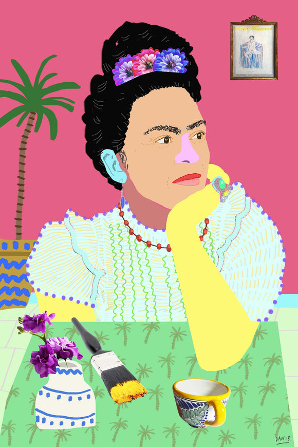 Frida Thinking by Dan Jamieson