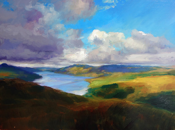 Passing Shadows Over Ardnamurchan by Andrew Sinclair