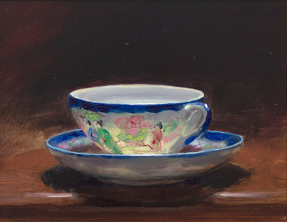 Teacup & Saucer IV by Andrew Sinclair