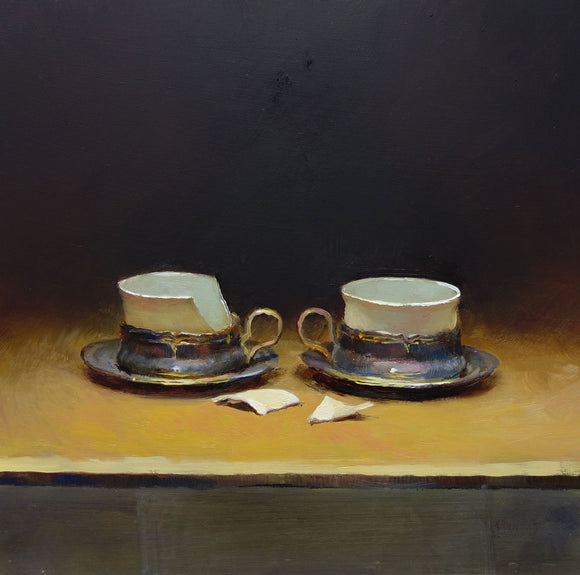 Two Cups by Andrew Sinclair