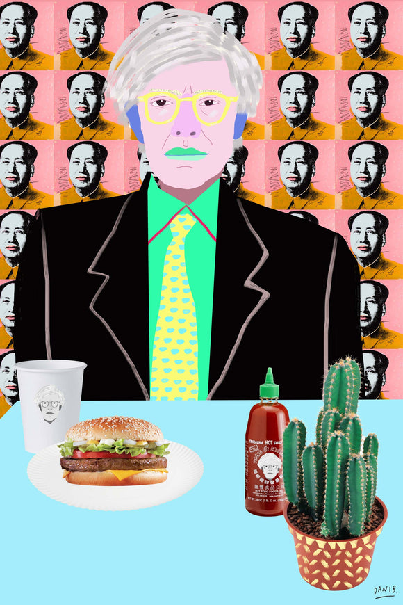 Warhol Burger, So Hot Right Mao by Dan Jamieson