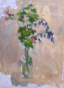 Title: Wild Flowers Artist: Stacey Gledhill Medium: oil on wooden panel Size: 40cm x 30cm (unframed) Broth Art