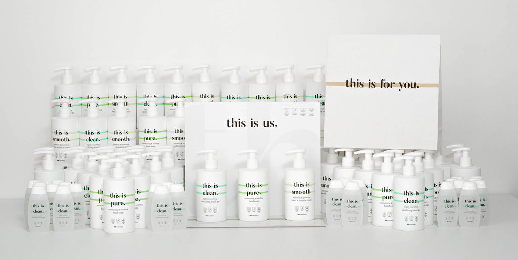 Dré Cosmetics This is us. producten