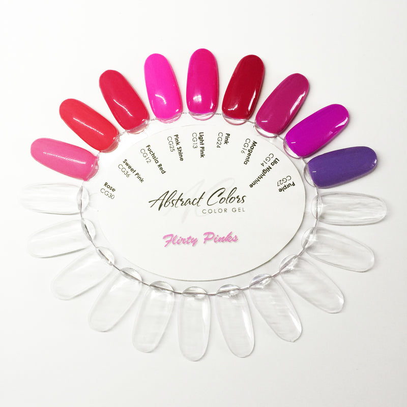 Colorwheel Oval Clear 10pcs